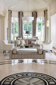Marble Floor Design Italian In California House