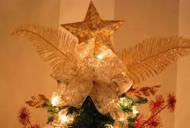 Christmas Tree Bow Topper Tutorial