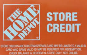 Home Depot In Store Credit ly Gift Card Balance