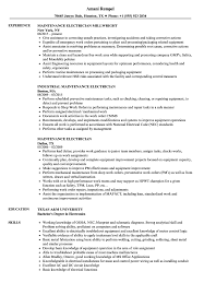 Maintenance Electrician Resume Samples | Velvet Jobs Guide Electrician Resume Samples 12 Examples Pdf Unbelievable Sample Canada Electrical Apprentice Best Of Journeymen Electricians Example Livecareer 10 Apprentice Electrician Resume Examples Cover Letter The Samples Menu Or Click Here To Order Your New New Templates Visualcv Industrial And For 2019 Licensed Velvet Jobs