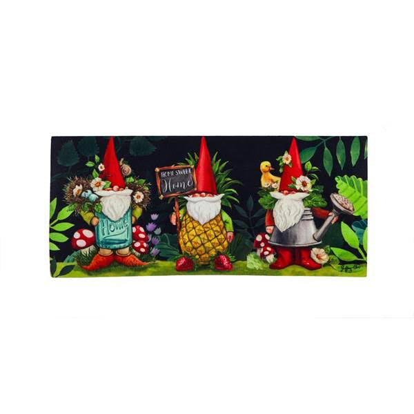 Evergreen Enterprises Gnomes in The Garden Sassafras Switch Mat
