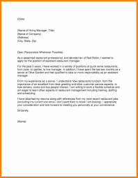 13 letter to hiring manager