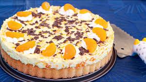 blitztorte mandarinen im paradies kuchen und torten