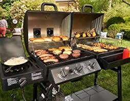 Brinkmann Electric Patio Grill Amazon by Amazon Com Char Griller 5050 Duo Gas And Charcoal Grill