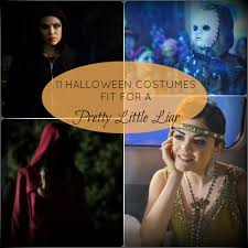 Pll Halloween Special Season 2 by 11 Halloween Costumes Fit For A Pretty Little Liar Babble