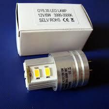 high quality ac dc12v gy6 35 6w 12v led light high power led bulb