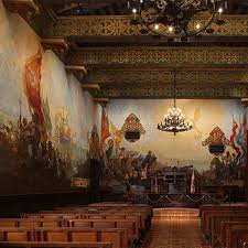 santa barbara county courthouse murals projects evergreene