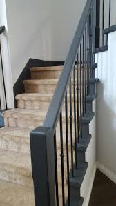 Best 25+ Black Banister Ideas On Pinterest | Painted Banister ... Stairway Wrought Iron Balusters Custom Wrought Iron Railings Home Depot Interior Exterior Stairways The Type And The Composition Of Stair Spindles House Exterior Glass Railings Raingclearlightgensafetytempered Custom Handrails Custmadecom Railing Baluster Store Oak Banister Rails Sale Neauiccom Best 25 Handrail Ideas On Pinterest Stair Painted Banister Remodel