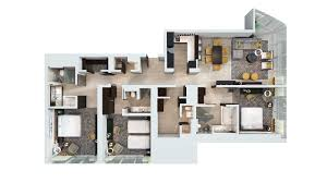 3 Bedroom Townhomes For Rent Near Me by 3 4 Bedroom Apartments The Aldyn 60 Riverside Blvd Picture