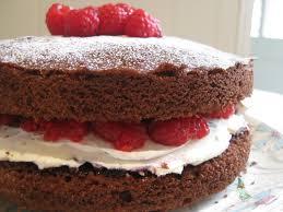 Chocolate raspberry and mascarpone cake