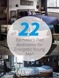 22 Bachelors Pad Bedrooms For Young Energetic Men Mens Bedroom DesignMen