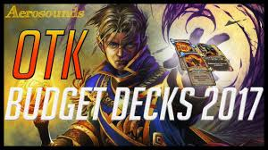 hearthstone budget decks 2017 otk priest gameplay guide and tips