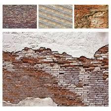 fototapete steinoptik ziegel mauer wand backstein stein