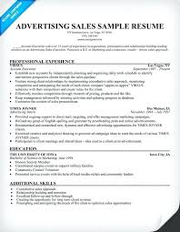 Marketing Advertising Resume Examples Sales Images The Employment