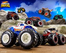 100 Monster Trucks Crashing Hot Wheels On Twitter Introducing Hot Wheels An