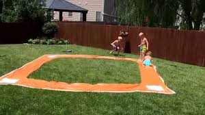 Baseball Slip N Slide - YouTube More Accurate Names For The Slip N Slide Huffpost N Kicker Ramp Fun Youtube Triyaecom Huge Backyard Various Design Inspiration Shaving Cream And Lehigh Valley Family Just Shy Of A Y Pool Turned Slip Slide Backyard Racing With Giant 2010 Hd Free Images Villa Vacation Amusement Park Swimming 25 Unique Ideas On Pinterest In My Kids Cided To Set Up Rebrncom Crazy Backyard Slip Slide