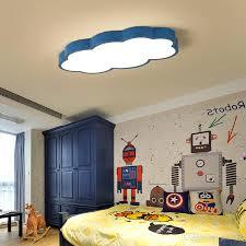großhandel leuchte wolke kinder raumbeleuchtung kinder deckenle baby deckenleuchte mit gelb blau rot weiß für junge mädchen schlafzimmer