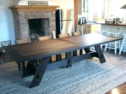 Rustic Dining Table Seats 12 Charming Large Room Tables About Remodel Us On Remarkable Seat Extra