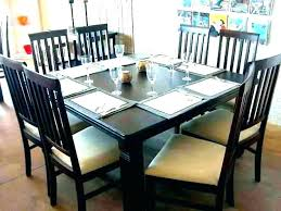 8 Seat Dining Table Set Room Chairs