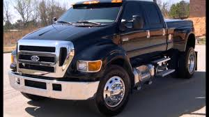 FORD F 650 PICK UP TRUCK - YouTube