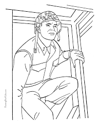 US Military Army Coloring Pages Online Printable