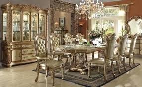 Modern Formal Dining Room Sets With China Cabinet Table And Chairs For Sale How To Arrange