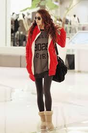 Teen Girl Winter Fashion Tumblr Pinterest Girlsits Casual Cute Outstanding