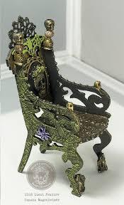 Viva Decor Inka Gold Emerald by Gothic Halloween Throne
