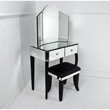 Bath Vanities With Dressing Table by Three Fold Corner Mirror Vanity Dressing Table Using Black Wooden