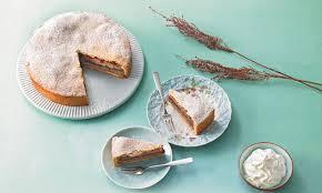 gedeckte mohn walnuss torte