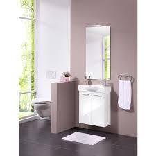 fackelmann badmöbel set sided 4 tlg gästebad bestehend aus waschbecken waschtischunterbau spiegel und aufsatzleute breite 54 5 cm