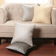 Decorative Couch Pillows Amazon by Amazon Com Best Home Fashion Metallic Weave Pillow Insert Not