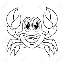 Coloriage Crabe Duathlonwacom
