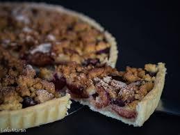 dessert aux quetsches recette tarte streusel aux quetsches et à la cannelle je vais vous cuisiner