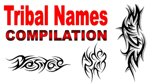 Tribal Names Tattoo Designs Compilation