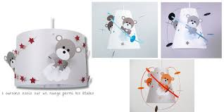lustre chambre d enfant luminaire ours pour chambre bébé luminaire enfant le casse