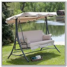 Patio Swings With Canopy Replacement by Patio Swing Replacement Cushions And Canopy Patios Home Design