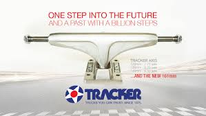 TRACKER. TRUCKS YOU CAN TRUST. SINCE 1975.
