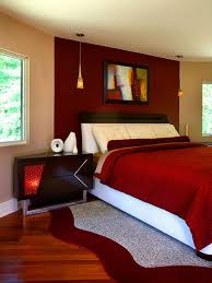 I Am Loving This Red Bedroom When Typically Wouldnt Believe The