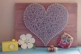 decoration a faire soi meme un coeur en ficelle une idée déco à faire soi même j ai dit oui