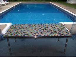 Metal Adhesive Backsplash Tiles by Peel And Stick Backsplash Mosaic Metallic Glass Tile