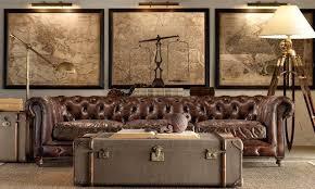 kreative wohnideen net braunes wohnzimmer chesterfield