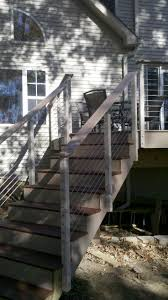 9 Best Deck Images On Pinterest   Deck Railings, Railing Ideas And ... Best 25 Deck Railings Ideas On Pinterest Outdoor Stairs 7 Best Images Cable Railing Decking And Fiberon Com Railing Gate 29 Cottage Deck Banister Cap Near The House Banquette Diy Wood Ideas Doherty Durability Of Fencing Beautiful Rail For And Indoors 126 Dock Stairs 21 Metal Rustic Title Rustic Brown Wood Decks 9