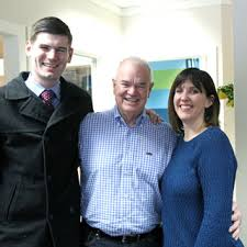 Dan McCarthy News Reporter With Duncan Campbell And Beth Hanson Photo By Jodi