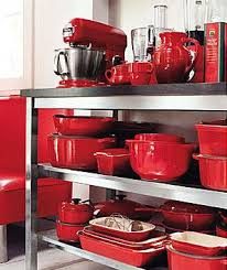 Love RED In The Kitchen Me Too Most Of My Stuff