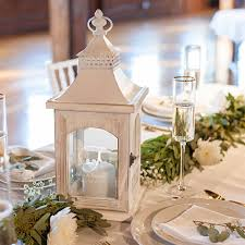 Rustic Wedding Lantern Personalized With Single Initial Bride And Grooms Name Date
