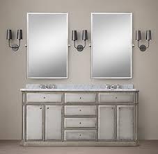 Restoration Hardware Mirrored Bath Accessories by 1930s French Mirrored Bath Collection Rh