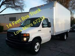100 14 Foot Box Truck 2017 Ford ESeries Chassis For Sale In San Jose CA