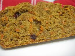 Spiced Carrot Bread Dairy Free