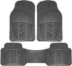 Universal Fit 3-Piece Full Set Ridged Heavy Duty Rubber Floor Mat ... Universal Fit 3piece Full Set Ridged Heavy Duty Rubber Floor Mat Armor All Black 19 In X 29 Car 4piece John Deere Vinyl 31 18 Mat0326r01 Bestfh Truck Tan Seat Covers With Combo Alterations Mats Red Metallic Design On Vehicle Beautiful For Weather Toughpro Infiniti G37 Whosale Custom For Subaru Forester Legacy 19752005 Bmw 3series Husky Liners Heavyduty